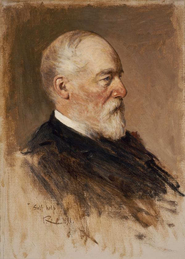 Samuel Smiles, 1812 - 1904. Author and reformer (1891)