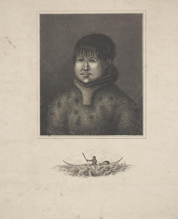 John Sakeouse, 1797-1819. Eskimo whaler and draughtsman (About 1816)