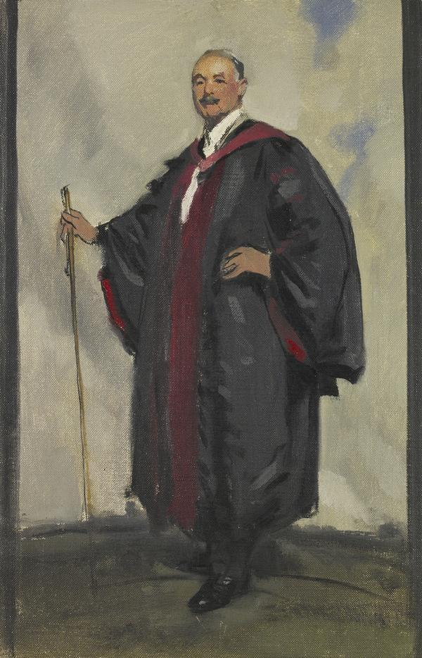 Professor George Matthew Robertson, 1864 - 1932. Psychiatrist (Painted 1930)