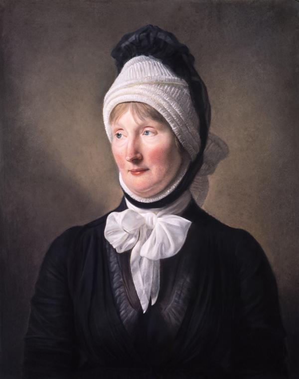 Margaret Sym, Mrs John Wilson, 1753 - 1824. Mother of Professor John Wilson (about 1797)