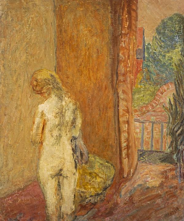 Nude by Garden Door (1942)