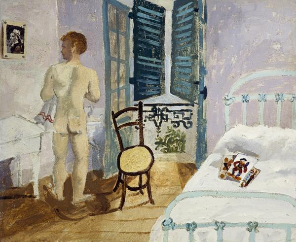 Nude Boy in a Bedroom (1930)