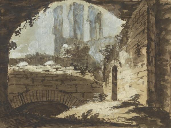 Ruins of the Baths of Severus (?)