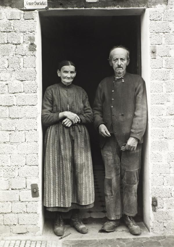 Farming Couple, about 1932 (about 1932)