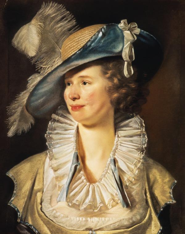 Mrs. Johnston of Hutton Hall, Berwickshire (About 1796 - 1800)