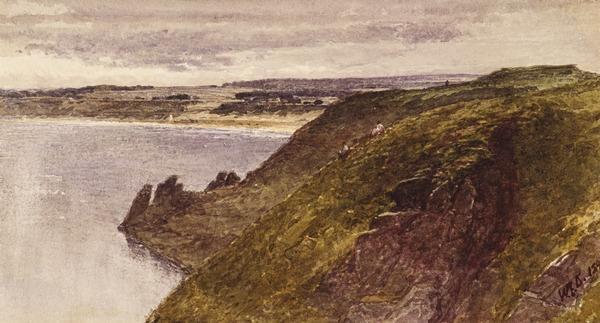 Lunan Bay, Angus (Dated 1890)