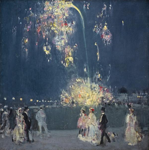 Dieppe, 14 July 1905 : Night (1905)