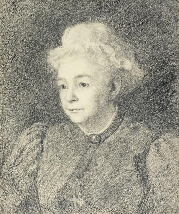 Margaret Oliphant, 1828 - 1897. Novelist (1895)