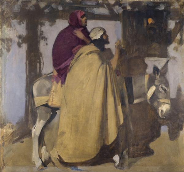 Christmas Eve: 'And there was no room for them in the inn' (unfinished) (1900 - 1904)