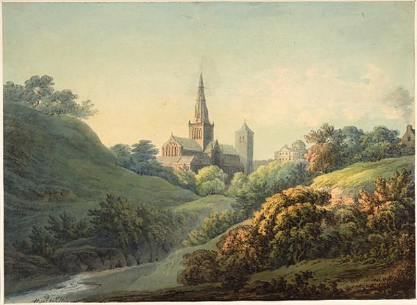 Glasgow Cathedral (About 1794)