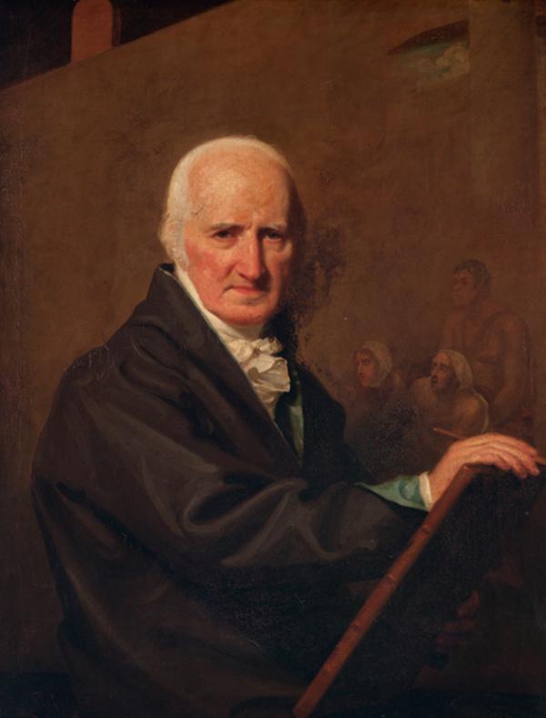 Sir Benjamin West (1738 - 1820) (About 1815)