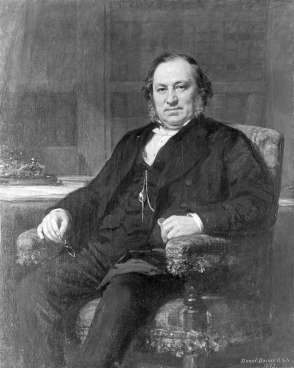 Rev. James Taylor, 1813 - 1892. Minister and author (1873)