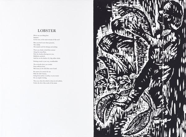 Lobster (from 'The Scottish Bestiary') (Published 1986)