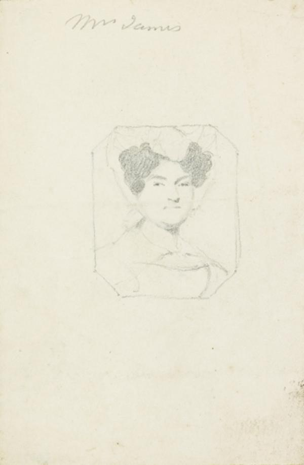 Mrs James (recto and verso) (1807 - 1835)