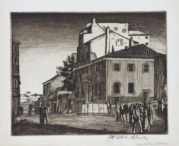 Evening, Nimes (1927)