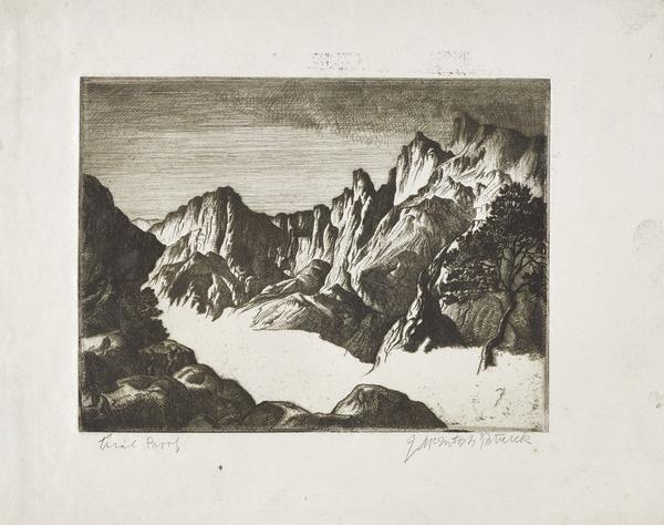 Mountain Landscape (About 1928)