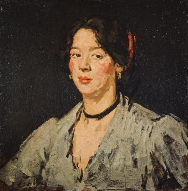 The Green Blouse (About 1904)