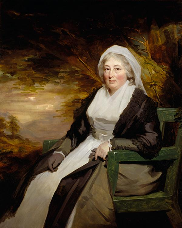 Christina Lamont Drummond, Mrs Dougald Campbell of Ballimore (1735 - 1810) (About 1795)
