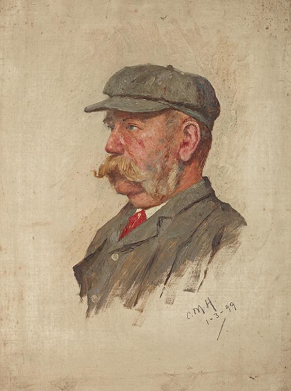 T.D. Thomson, fl. 1899. Of Dirleton Curling Club (1899)