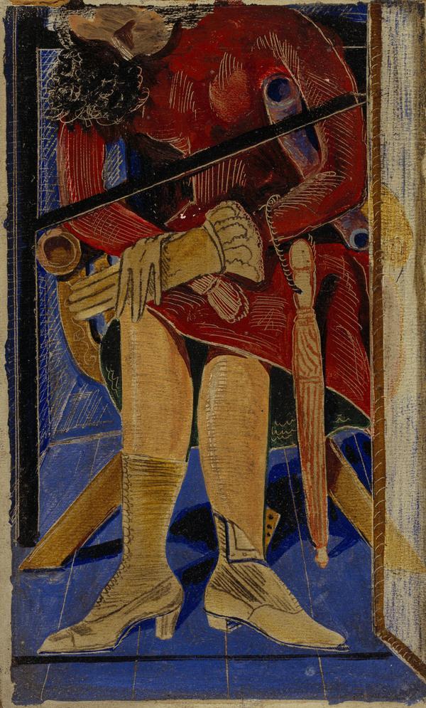 La Femme au parapluie [Woman with Umbrella] (About 1921)