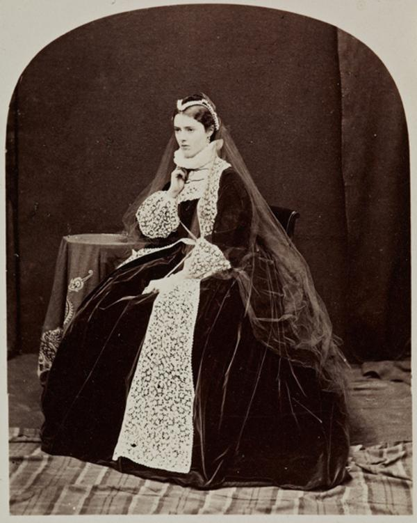 Miss G. Moncrieffe as Queen Mary (27 August 1863)