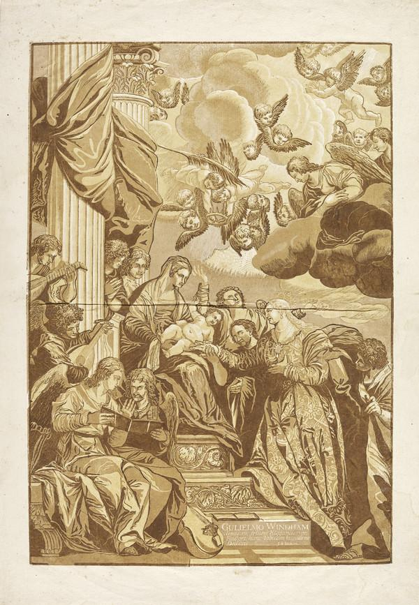 The Mystic Marriage of St Catherine (1740)