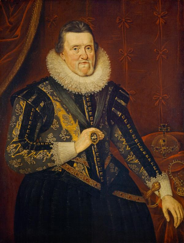James VI and I, 1566 - 1625. King of Scotland 1567 - 1625. King of England and Ireland 1603 - 1625 (after 1622)