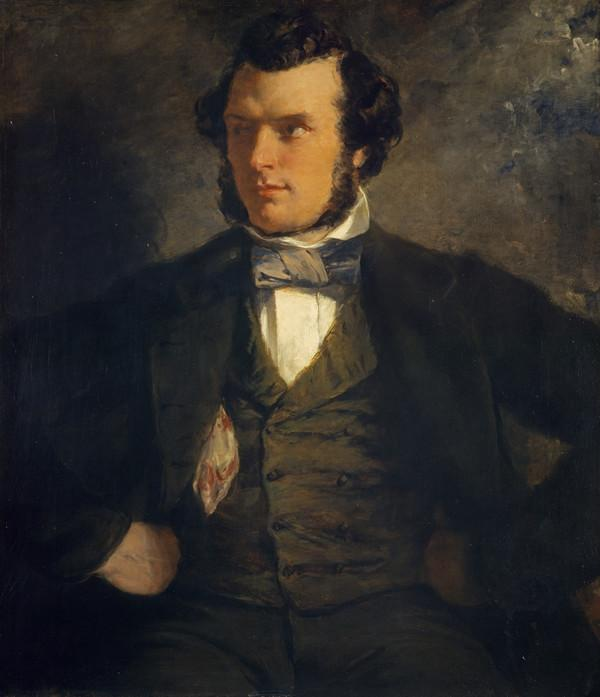 Thomas Faed, 1825 - 1900. Artist (About 1850)