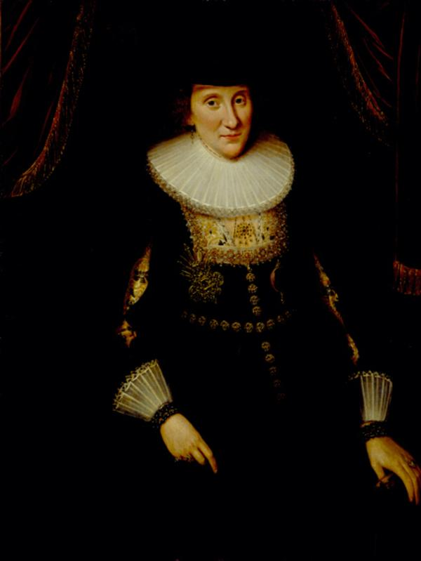 Lady Anne Hay, Countess of Winton, about 1592 - 1625 / 1628. Wife of the 3rd Earl of Winton (Dated 1625)