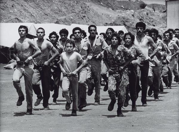 Palestinians Training in Beirut (mid 1970s (printed 2013))