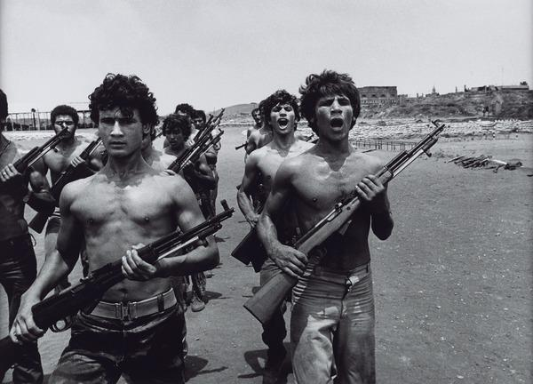 Palestinian Fighter Training in Beirut (1976 (printed 2013))