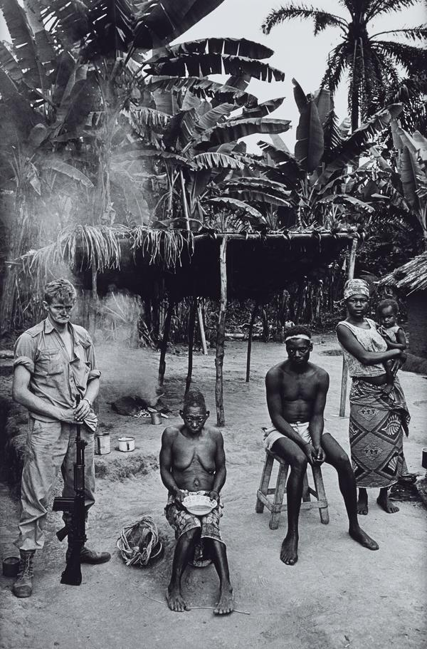 Mercenary with Congolese Family (1966 (printed 2013))