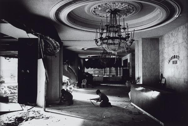Christian Phalange Gunmen in the Holiday Inn Hotel, Beirut (1976 (printed 2013))