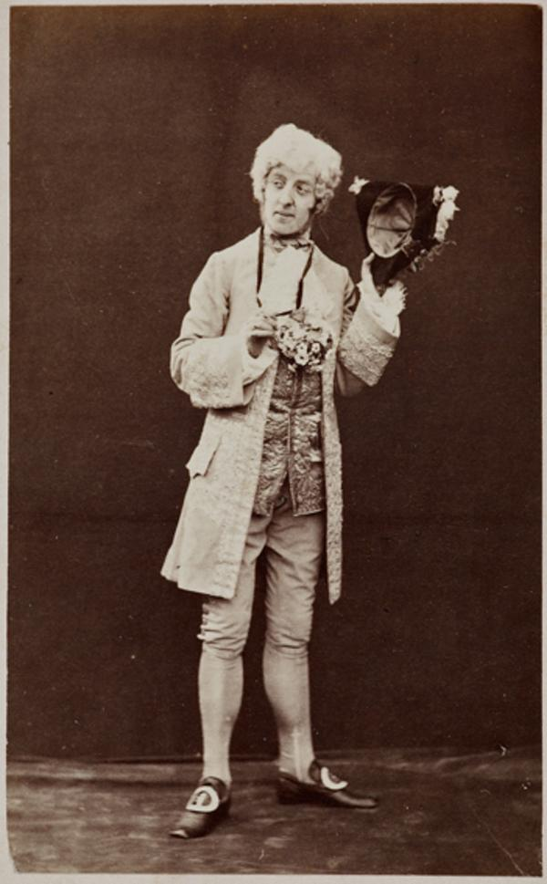 The Hon. Lewis Wingfield as Mr Primrose, in 'Popping the Question' (1 September 1863)