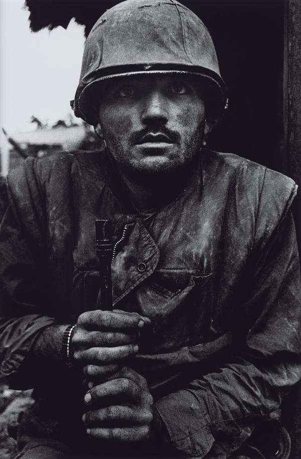 Shell-shocked US Marine, The Battle of Hue (1968 (printed 2013))