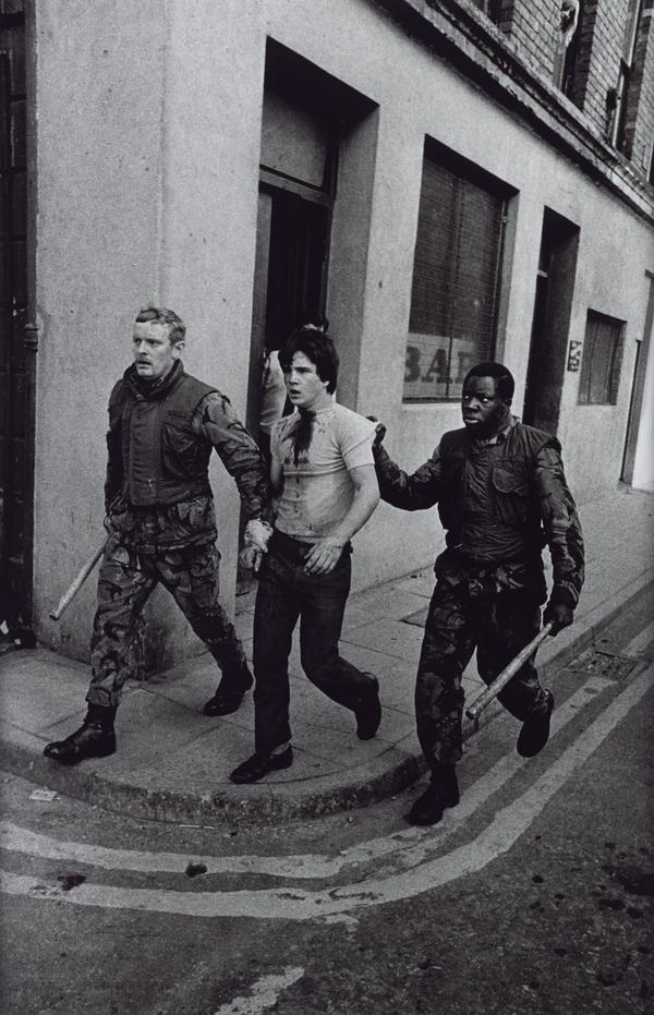 British Soldiers in the Bogside, Londonderry, Arresting Catholic Youth (1971 (printed 2013))