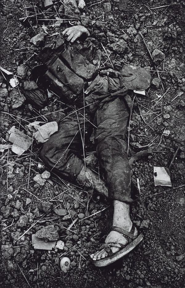 A Dead North Vietnamese Soldier, The Battle of Hue (1968 (printed 2013))