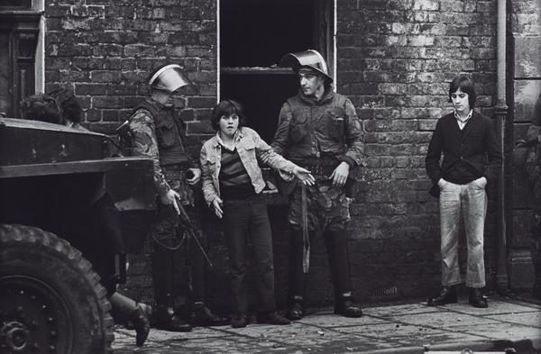 British Soldiers Holding a Catholic Youth, Londonderry, Northern Ireland (1971 (printed 2013))