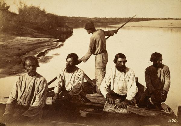 Boatmen, River Volga (1875)