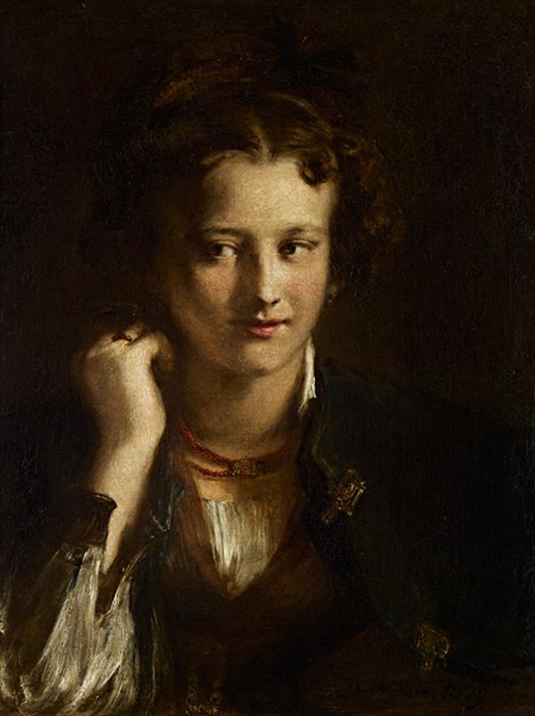 The Artist's Niece (Sophia Wilkie, later Mrs James Winfield) (Dated 1829)