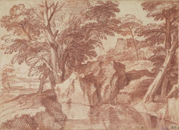 Landscape with a Woodland Stream