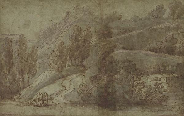 Italian Landscape with a Quarry