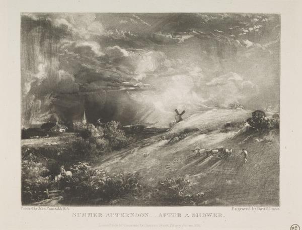 Summer Afternoon, After a Shower (1831)