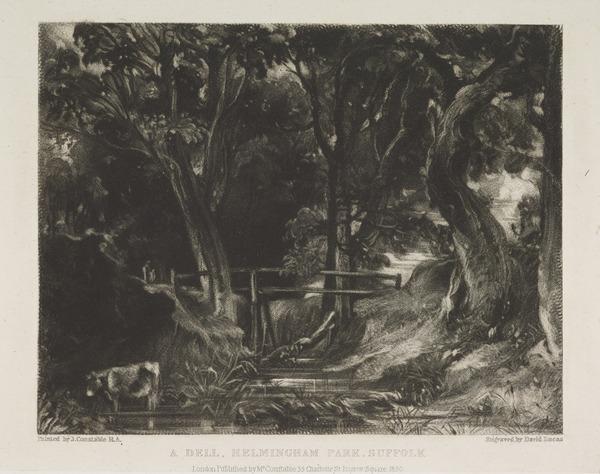 A Dell Helmingham Park, Suffolk (1830)
