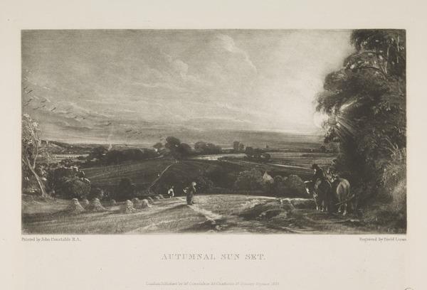 Autumnal Sun Set (1831)