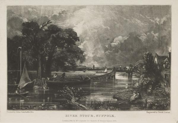 River Stour, Suffolk (1831)
