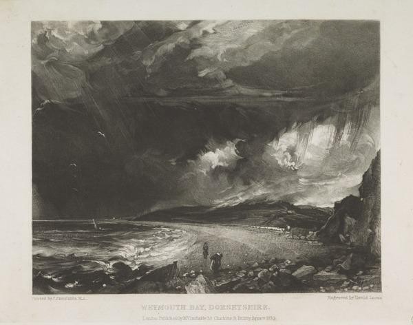 Weymouth Bay, Dorsetshire (1830)