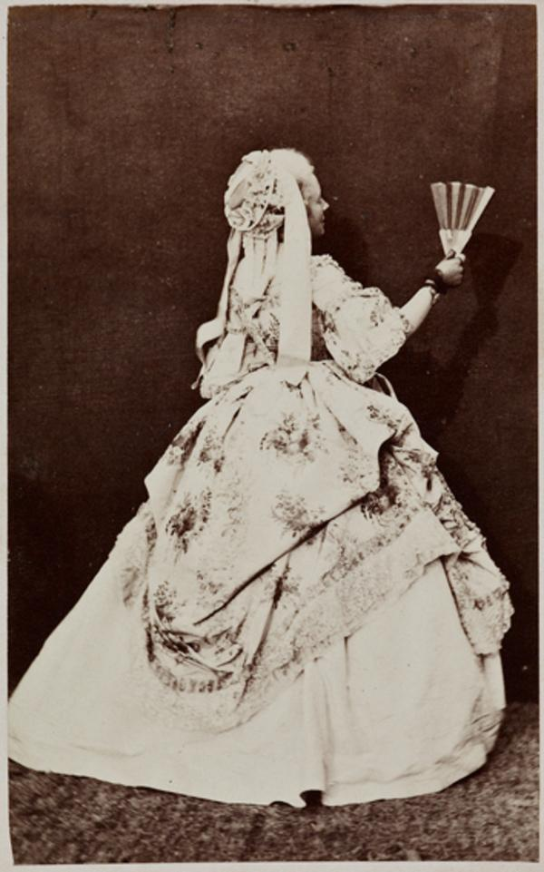 Mrs Erskine Wemyss as Miss Biffen, in 'Popping the Question' (1 September 1863)