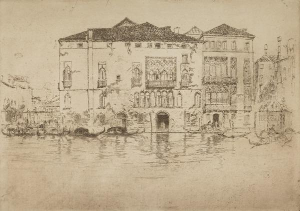 The Palaces (Venice) (About 1880)