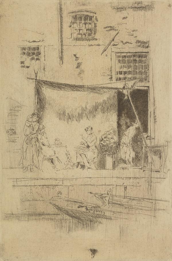 Fruit Stall (1886)